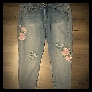 🌹Lane Bryant Rose Jeans